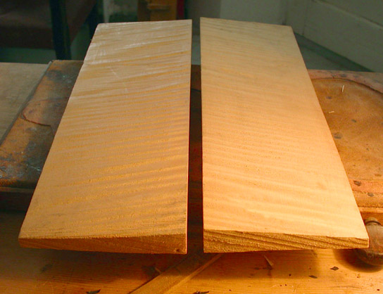 Runout and vertical grain