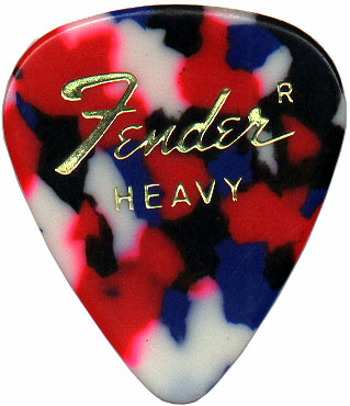 less rare Fender heavy in clownbarf
