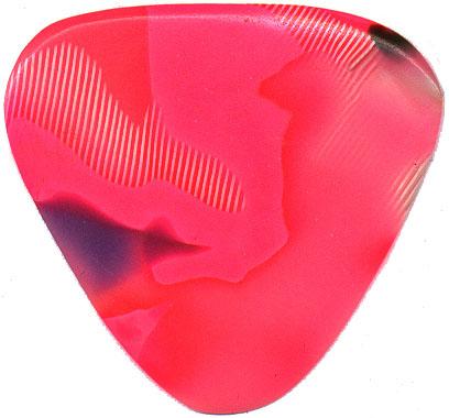 Dunlop Guitar Picks Teardrop Classic Celluloid Medium Shell 12 Pack